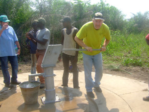 A Hand-pumped Well for Ayakope